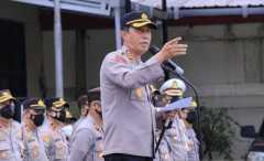510 personel Polri amankan presiden resmikan Jembatan Sei Alalak